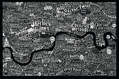 literary london map
