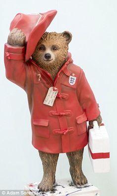 Football star David Beckham designed a Paddington Bear statue for the campaign....David Beckham