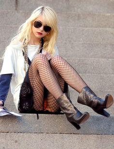 Taylor Momsen - Les stars montrent leur culotte - Voici