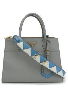 Кожаная сумка Galleria от Prada