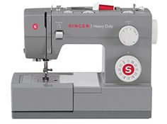 The Singer Scholastic heavy duty mechanical sewing machine is a true workhorse. With a heavy duty metal interior frame, stainless steel bed plate, extra-high sewing speed and powerful motor, the SINGER Scholastic sewing machine can sew through Singer Facilita, Janome, Pfaff Creative, Machine Singer, Brother Innovis, Brother Se400, Husqvarna Viking, Leather Embroidery, Diy Baby