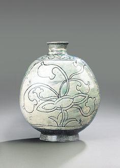 [Joseon Dynasty, 15th Century] Buncheong Bottle