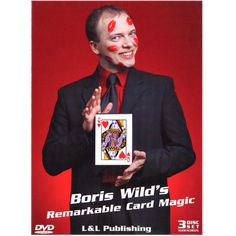 Remarkable Card Magic (3 Volume Set) by Boris Wild (Video Stream) - FISM award-winner Boris Wild is one of the most renowned French magicians in the world. From Hollywood and Las Vegas to Monte Carlo, Sydney, Tokyo and beyond, Boris' original and creative approach to card magic has taken him to some of the most prestigious venues on five continents ... get it here: http://www.wizardhq.com/servlet/the-15310/remarkable-card-magic-3-volume-set-by-boris-wild-video-stream/Detail?source=pintrest