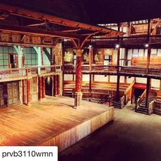 Shakespeare's Globe snapped on Instagram Globe Theatre, Theater, Stage Beauty, Barre, Shakespeare, Opera House, England, Houses, Mansions