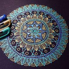 Image de art, drawing, and mandala