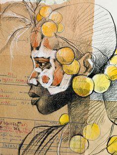 Stéphanie Ledoux - Carnets de voyage: Suri girl