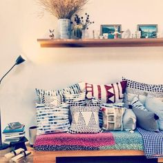 The lovely mixed prints and textures of the gorgeous textiles at enSoie are worth a peek. You'll find everything from decorative pillows to that perfect silk scarf.