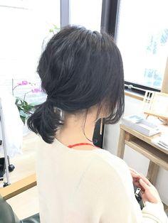 暗髪でもちょっとしたアレンジでいつもと違った印象に kikikobe 新着ブログです