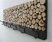 Tree stump Coat Rack #wood