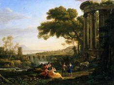 Claude Lorrain landscape