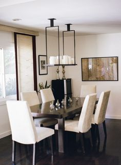 Elegant dining room decor: Photography: Rebecca Yale Photography - rebeccayalephotography.com   Read More on SMP: http://www.stylemepretty.com/living/2016/03/18/getting-schooled-in-pattern-play-and-the-perfect-pop-of-color/