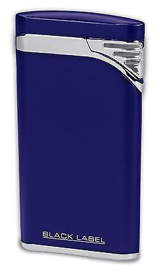NEW BLACK LABEL by LOTUS-STILETTO WIND RESISTANT TORCH CIGAR LIGHTER-BLUE! This listing is for a Metallic Blue & Chrome Velour STILETTO - Wind Resistant Torch Flame Cigar or Cigarette Lighter. Black Label is an innovative collection of distinctive smoking accessories, featuring stylish carbon fiber & copper accents for the finest look for a night on the town. All Black Label products are backed by a two-year limited warranty. #cigarlighter #cigars…