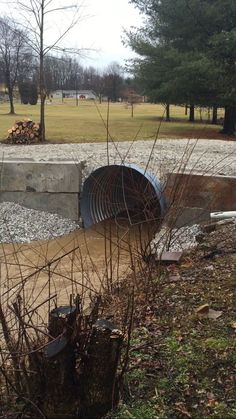 Culvert in action Feb 2016