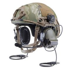 Peltor ComTac ACH communications headset with ARC attachment