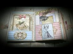 Tutorial #1 Candy Sweet Christmas Album ( Vectoria Designs project ) - YouTube
