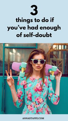 Overcoming self-doubt can be extremely hard. So is struggling with self doubt feelings. Self Confidence Books, Building Self Confidence, Building Self Esteem, Self Development Books, Development Quotes, Personal Development, Self Esteem Activities, Happiness Challenge, Self Love Affirmations