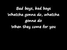 Inner Circle - Bad Boys (Me and Matt might just be the only people that jam out to this in the car or at home..lol)