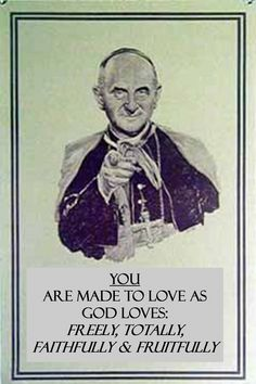 Paul VI Says...  [Booyah! Humanae Vitae is in tha house. | Natural Family Planning]