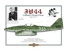 Me 262. Fighter Unit 44