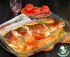 Рыба с картофелем под мясляной корочкой - кулинарный рецепт