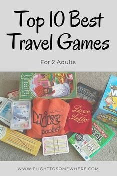 If you're travelling as a couple and looking for travel-sized games to enjoy on your trip, here are my top 10 best travel games for adults to add to your packing list. #travelgames #besttravelgames #travelgamesfor2 #besttravelcardgames #besttravelboardgames