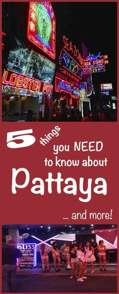 Pattaya bars & bar girls, massage parlours, Walking Street, getting around & beach. Go-Go bars, beer bars and short time bars - what is the difference?