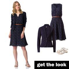 Kleid blau zero