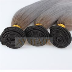 1b grey 2tone ombre color silky straight style (2)