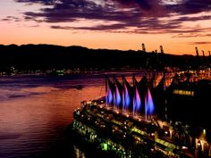 The perfect view adds ambiance to any event. Five sales Vancouver