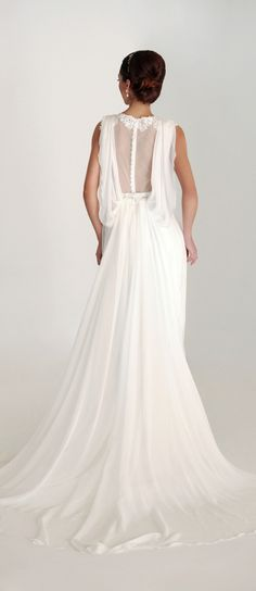 Eugenia Costura Primavera 2016 vestido de novia - Harmony