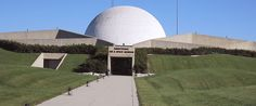 Armstrong Air & Space Museum in Wapakoneta, OH is named in honor of Neil Armstrong, first man to set foot on the moon. The museum chronicles Ohio's contributions to the history of space flight.
