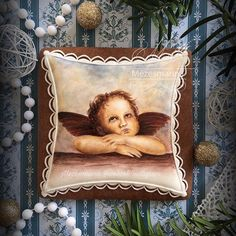 9 day...and...Christmas!!! #christmas #ilovechristmas #mezesmanna #handpainted #handmade #angel #gingerbread #cookies #gingerbreadcookies #icing #royalicing #instaart #instagram #instaday #dream #instagood #instadaily #vintage #lovely