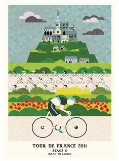 Tour de France ~ Neil Stevens | #Cycling #TourdeFrance #2011