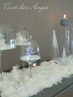 Sujet ange dans boule transparente 3 bapteme et autres for Table de nuit transparente