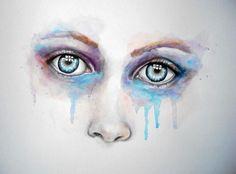 Windows to the Soul - Original Painting Modern Abstract Art Portrait Female Eyes | eBay
