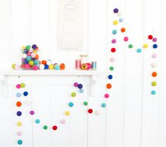 Polka Dot Party -- ideas for a first birthday party