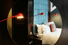 Inside a room at the Hoxton Hotel in East London.