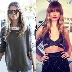 Behati Prinsloo's Bangs Are the Ultimate Starter Style if You're Considering Fringe #InStyle