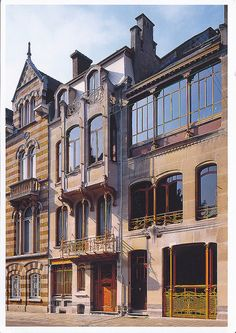 Major Town Houses of the Architect Victor Horta (Brussels)  #World heritage