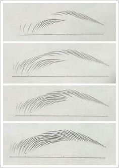 Malerei/Zeichnen Art Inspirations Eyebrow tutorial Wedding Faq: Answers For Planning And Paying For Pencil Art Drawings, Art Drawings Sketches, Face Drawings, Inspiration Art, Art Inspo, Pencil Drawing Inspiration, Drawing Techniques, Drawing Tips, Makeup Techniques