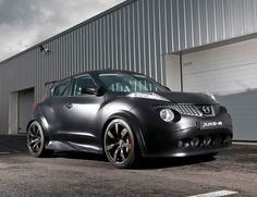 The Nissan Juke-R concept - also known as a 545hp Nissan GT-R engine put into a tiny hatchback, just to prove they could - has actually gone into limited production...