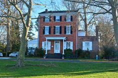 The Shippen House on Riverbank.