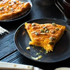 healthy pumpkin ricotta pie