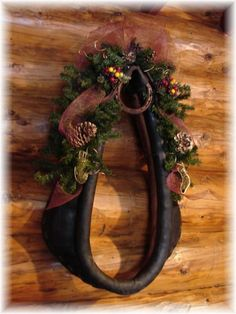 Wreaths for all seasons at CCL Ranch Decor.com. One of our smaller wreaths would also look nice in the center of the horse collar.