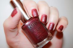 ❦ 454 - Wine, sugar mat by Kiko by diamant sur l'ongle