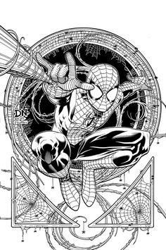 Spider-Man by David Nakayama
