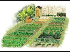 Jardin du Marais.Yves Gillen. jardinage sans travail du sol. Sous titre en Français - YouTube
