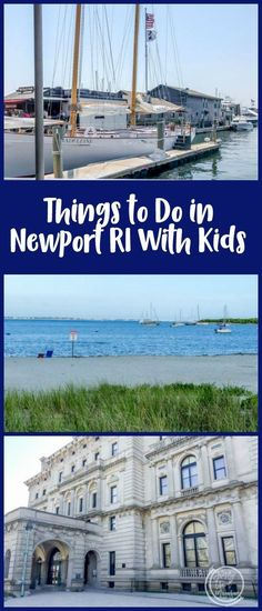Things to do in Newport RI with kids, including the mansions, Cliff Walk, beach, sailing, and restaurant ideas.