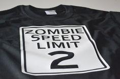 Children's tshirt zombie t shirt boy girl kids teen by UnicornTees, $14.99