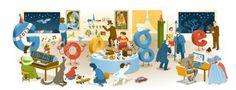 """Buon anno 2012: Google regala un """"best of"""" di Doodle per San Silvestro"""